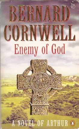 Cover image of the book Enemy of God by Bernard Cornwell