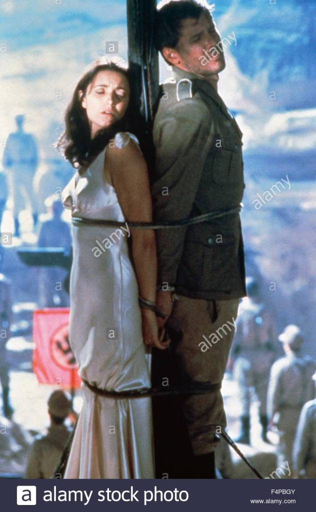 Indiana Jones and his girlfriend don't look