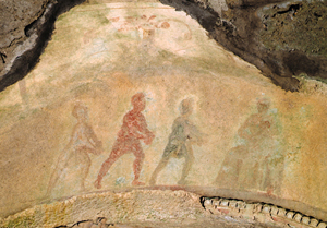 cave painting of the magi