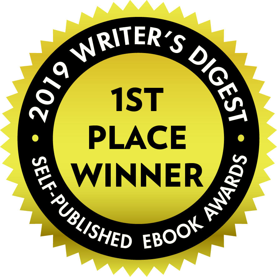 badge, 2019 Writer's Digest 1st Place Winner, Self-Published Ebook Awards