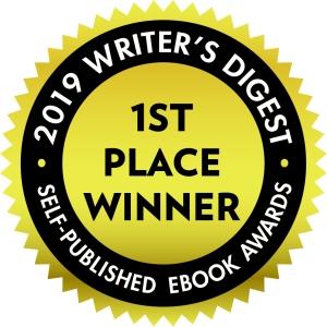 badge, 2019 Writer's Digest 1st Place Winner, Self-Published Ebook Awards