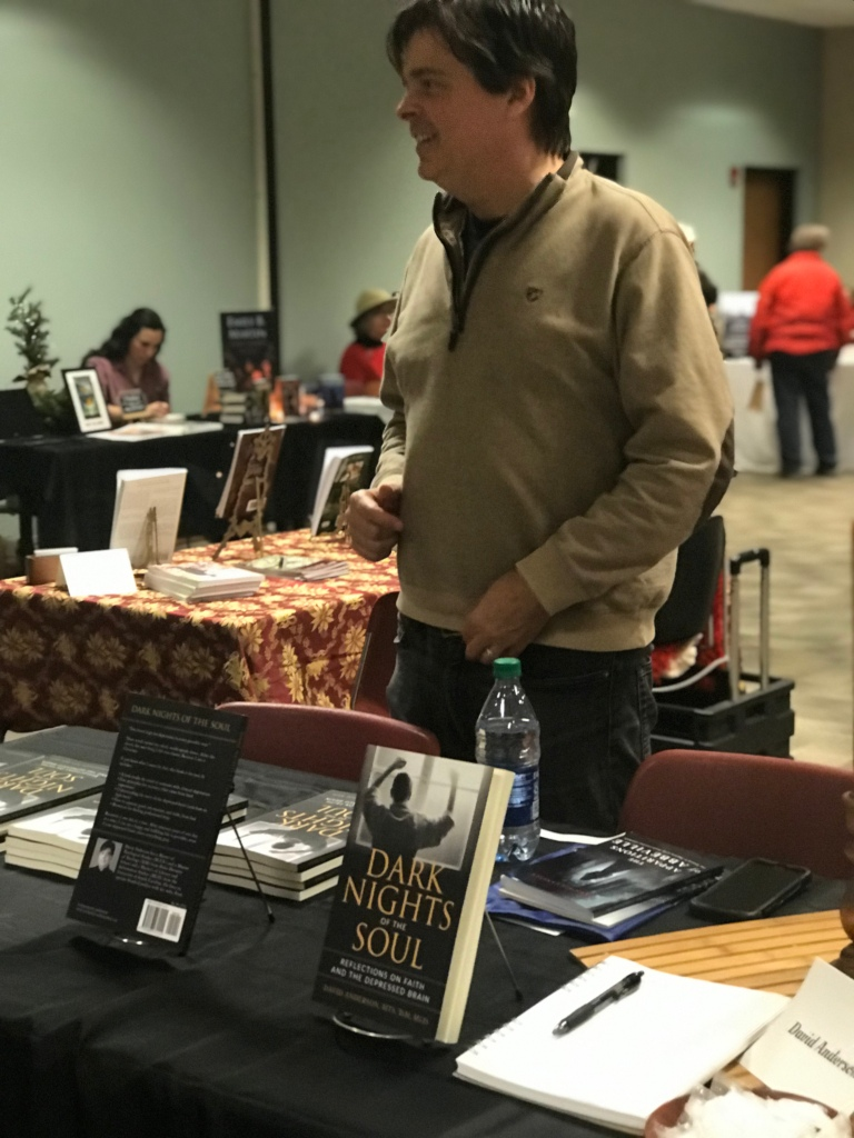 David Anderson at the Story Lines Author and Small Press Fair
