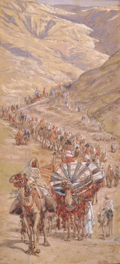 Tissot, the Caravan of Abraham