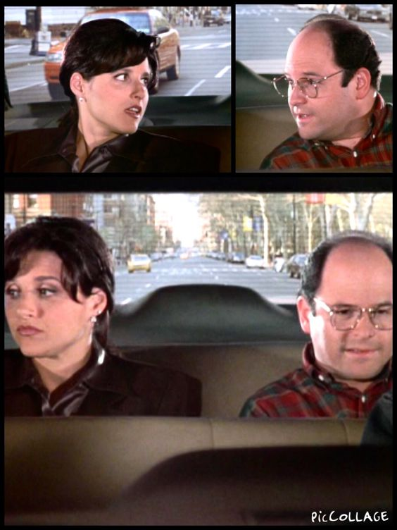 "From Seinfeld, George explains ""shiksappeal"" to Elaine"
